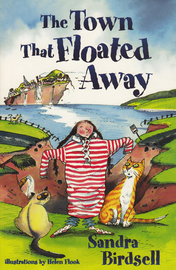 The Town That Floated Away - Book Cover